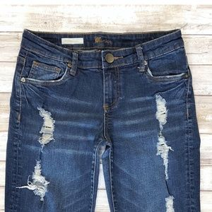 Kut from the Kloth Jeans - Kut from the Kloth Catherine Boyfriend Jeans 8401